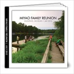 Miyao Family Reunion - 8x8 Photo Book (20 pages)