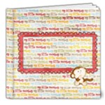 My little monkey deluxe photo book - 8x8 Deluxe Photo Book (20 pages)