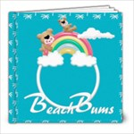 Beach Bums 8x8 photobook - 8x8 Photo Book (20 pages)