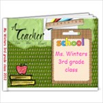 Ms Winters class - 7x5 Photo Book (20 pages)