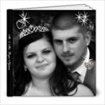 Ambers wedding book - 8x8 Photo Book (20 pages)