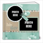 Watch Me Grow Boy- 8x8 Book - 8x8 Photo Book (20 pages)