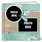 Watch Me Grow Boy- 12x12 Book - 12x12 Photo Book (20 pages)