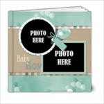 Watch Me Grow Boy-6x6 Book - 6x6 Photo Book (20 pages)