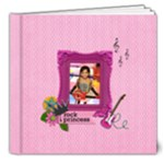 8x8 (DELUXE): My Rock Princess - 8x8 Deluxe Photo Book (20 pages)