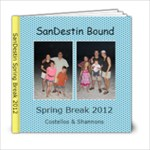Spring Break Beach with Shannons - 6x6 Photo Book (20 pages)