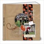 Football-8x8 Photo Book (20 pgs) - 8x8 Photo Book (20 pages)