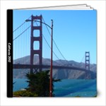 California 2012 - 8x8 Photo Book (39 pages)