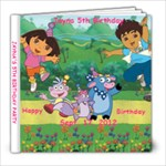 Jayna 5th birthday - 8x8 Photo Book (20 pages)