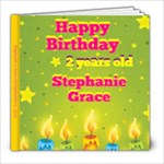 Stephanie 2 years old - 8x8 Photo Book (20 pages)