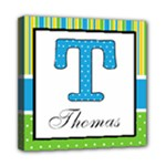 Boys Name Canvas - Thomas - Mini Canvas 8  x 8  (Stretched)