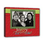 merry christmas frame - Canvas 10  x 8  (Stretched)