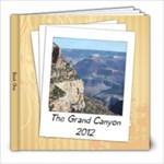 Grand canyon 1 - 8x8 Photo Book (20 pages)