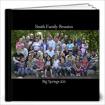 Smith Family Reunion Book - 12x12 Photo Book (20 pages)