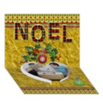 Noel 7x5 3D Card - Heart Bottom 3D Greeting Card (7x5)