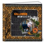 halloween book - 8x8 Deluxe Photo Book (20 pages)