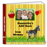 Personalized ABC Book, Deluxe 8x8 20pg - 8x8 Deluxe Photo Book (20 pages)