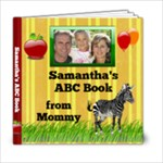 Personalized ABC Book, 6x6 20pg - 6x6 Photo Book (20 pages)