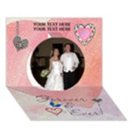 Forever 7x5 3D Card - Circle 3D Greeting Card (7x5)