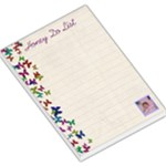 Butterfly Honey do List  memo pad large - Large Memo Pads