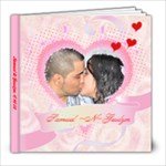 Samuel & Gesslyn - 8x8 Photo Book (20 pages)