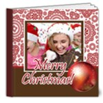 christmas book - 8x8 Deluxe Photo Book (20 pages)