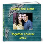 Caitlin Wedding Guest Book - 8x8 Photo Book (20 pages)