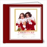 merry chrsitmas - 8x8 Photo Book (20 pages)