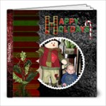 Happy Holidays 8x8 Photo Book (20 pages)