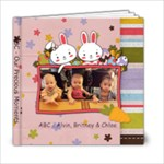 ABC - Our Precious Moments - 6x6 Photo Book (20 pages)