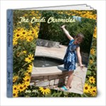Caidi Chronicles July 2012 - 8x8 Photo Book (20 pages)