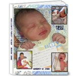 KELLENS FIRST YEAR ALBUM - 8x10 Deluxe Photo Book (20 pages)