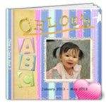 Chloe s ABC - 8x8 Deluxe Photo Book (20 pages)