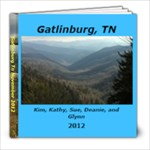 Gatlinburg Tn November 2012 - 8x8 Photo Book (20 pages)