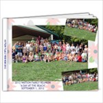 REUNION 2012 - 11 x 8.5 Photo Book(20 pages)