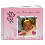 1 year old Ching Ching - 7x5 Photo Book (20 pages)