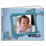 Lucas 1 yr old - 7x5 Photo Book (20 pages)