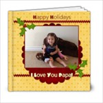 papa - xmas - 6x6 Photo Book (20 pages)