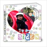 Aiden New Born Book - 6x6 Photo Book (20 pages)