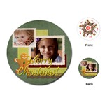 kids, fun, child, play, happy - Playing Cards Single Design (Round)
