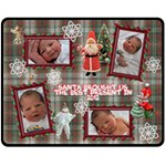 Santa Brought Us the BEST Present in 2012 Medium Fleece Blanket - Fleece Blanket (Medium)