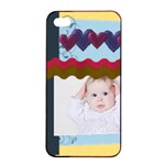 kids - Apple iPhone 4/4s Seamless Case (Black)
