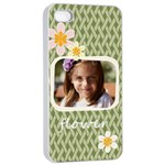 flower  - iPhone 4/4s Seamless Case (White)