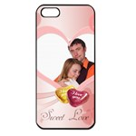 love - iPhone 5 Seamless Case (Black)