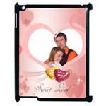 love - Apple iPad 2 Case (Black)