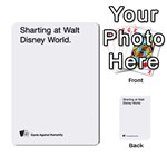 Cards Against Humanity E1.2 - Multi-purpose Cards (Rectangle)