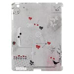 Apple ipad 3/4 hardshell case Love - Apple iPad 3/4 Hardshell Case (Compatible with Smart Cover)