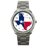 Texas Flag - Sport Metal Watch
