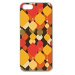 pattern - Apple Seamless iPhone 5 Case (Clear)