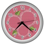 She is my sunshine Clock - Wall Clock (Silver)